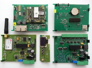 embedded hardware device boards spread