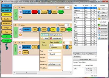 software graphical interface wpf custom protocol builder